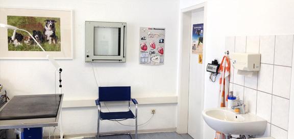 Behandlungsraum in der Tierarztpraxis Soltau, Anja Petersen